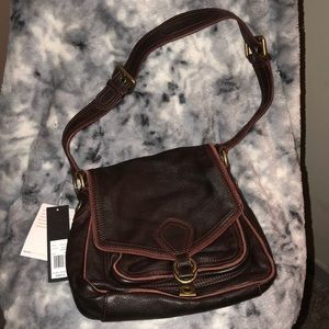 Marc by Marc Jacobs Brown Leather Shoulder Bag